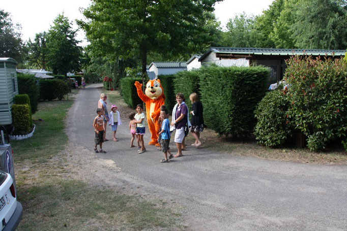 camping familial pour les enfants en nouvelle aquitaine