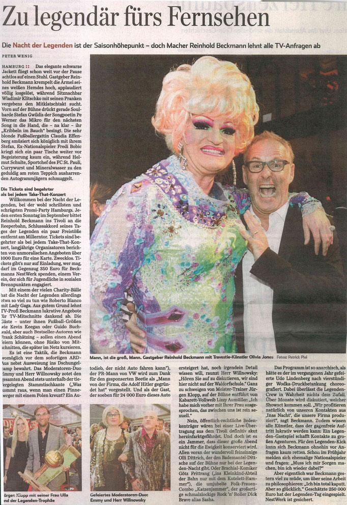 Hamburger Abendblatt - 2011