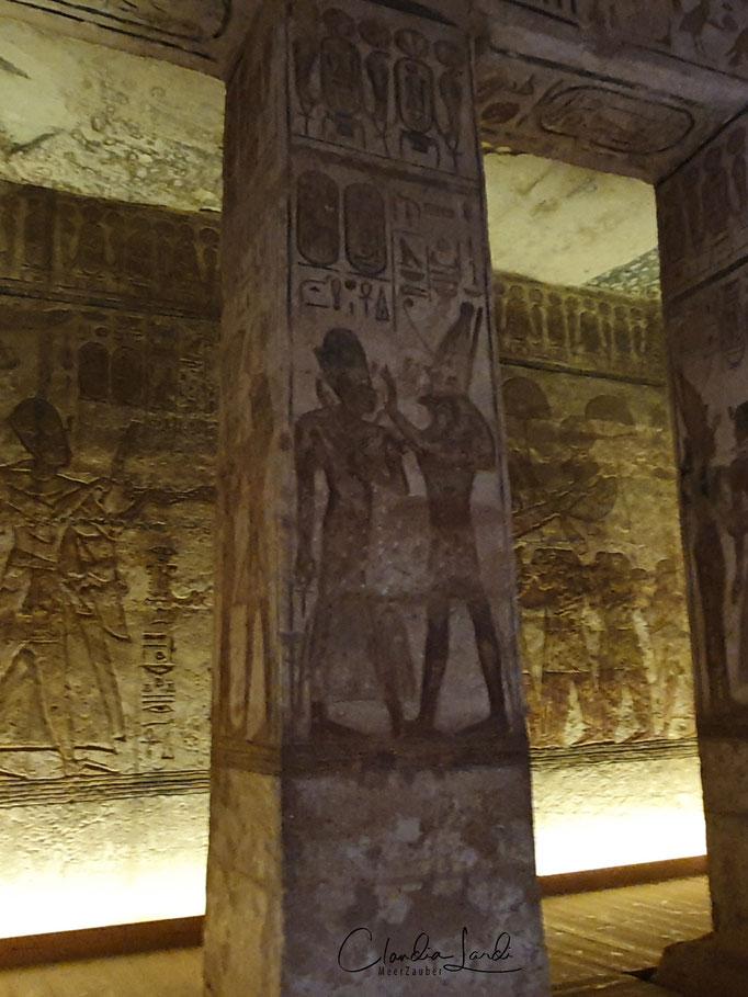 Jahrtausend alte Malereien