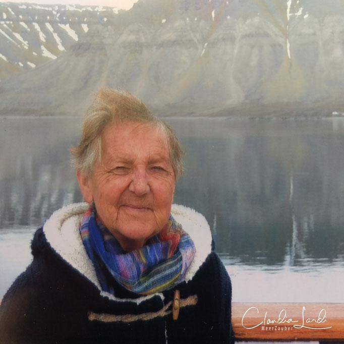 Meine geliebte Mutter, in Spitzbergen, 2016