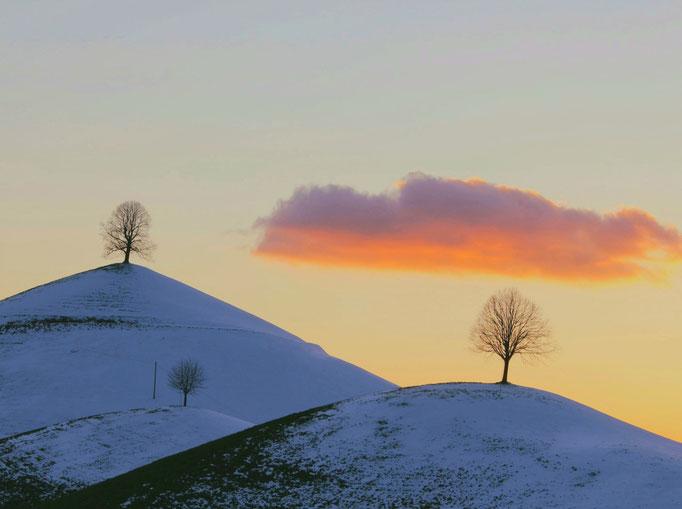 Hills im Winter