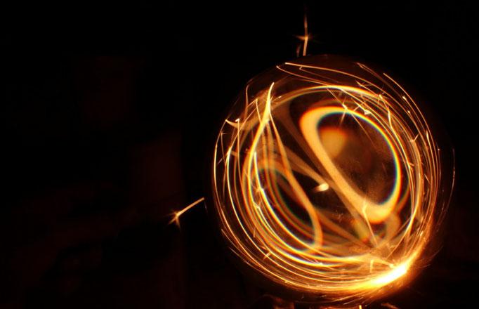 Magic, Lichtspiel mit Wunderkerzen