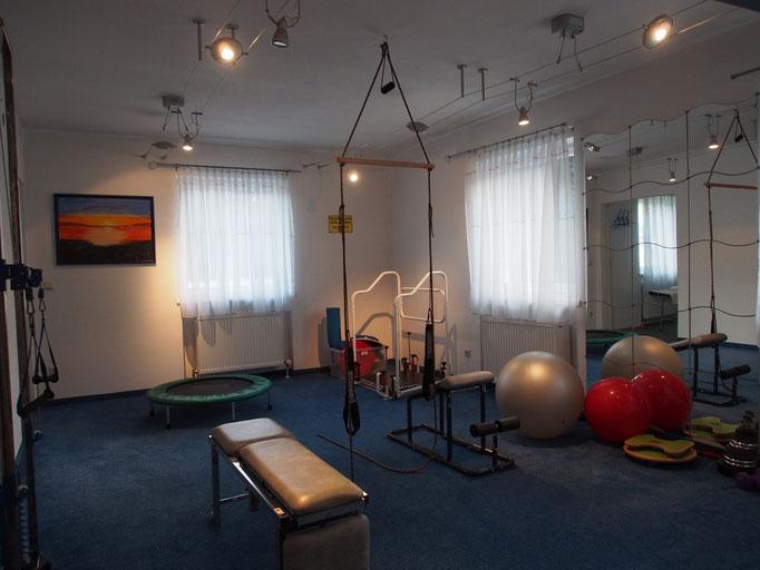 aktive Therapie im Trainingsraum