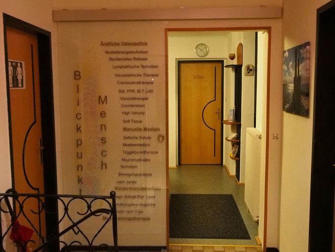 Eingang zur Ordination