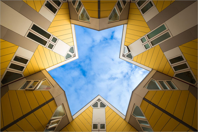 Cube Houses, Rotterdam, Niederlande, Netherland  © Oliver Jerneizig