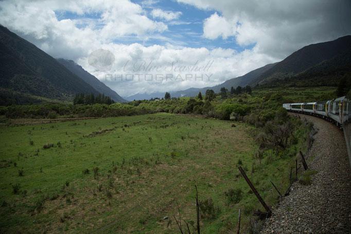 Trans Alpine Train Ride