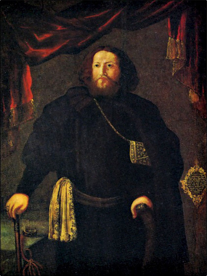 Боярин Борис Иванович Прозоровский. Худ. Грубе Э. 1694.