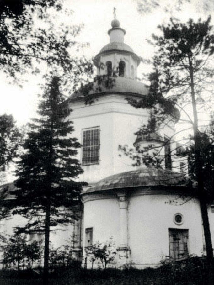 Дурнево. Вотчинная церковь 1680-х гг., снесенная в советское время