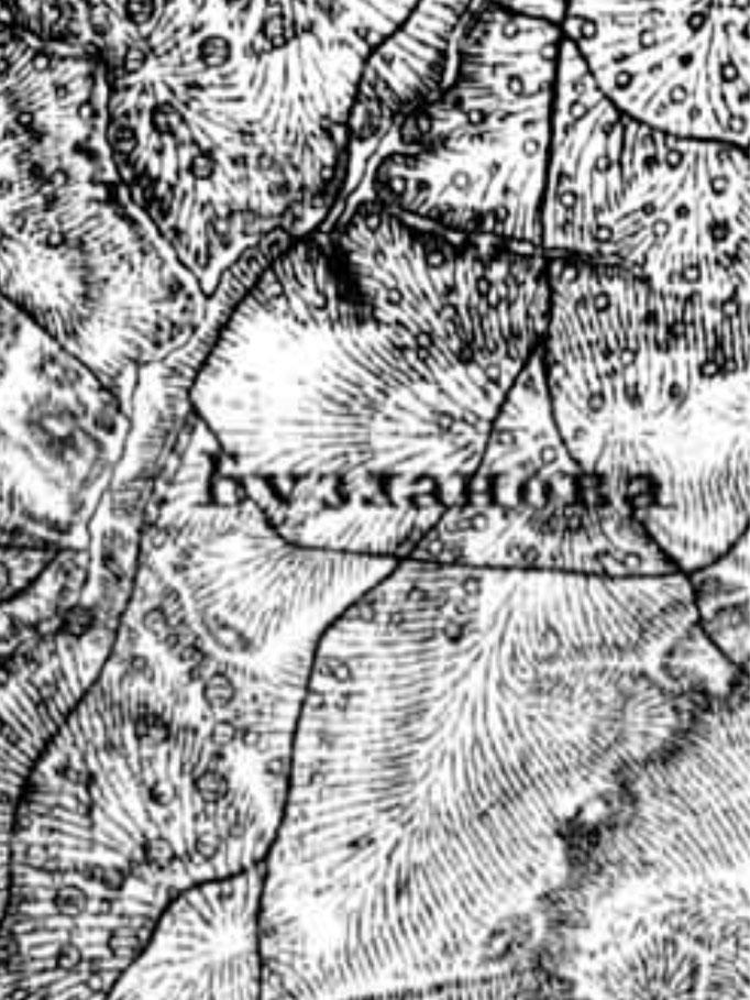 карта  Деревни Бузланово