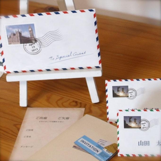 結婚式 オリジナル 招待状4 ワクワクカンパニー