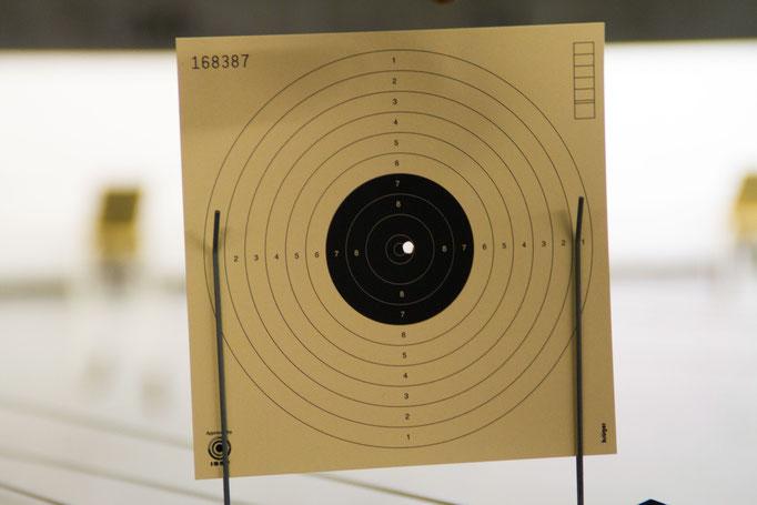 Carton pour le tir à 10 mètres
