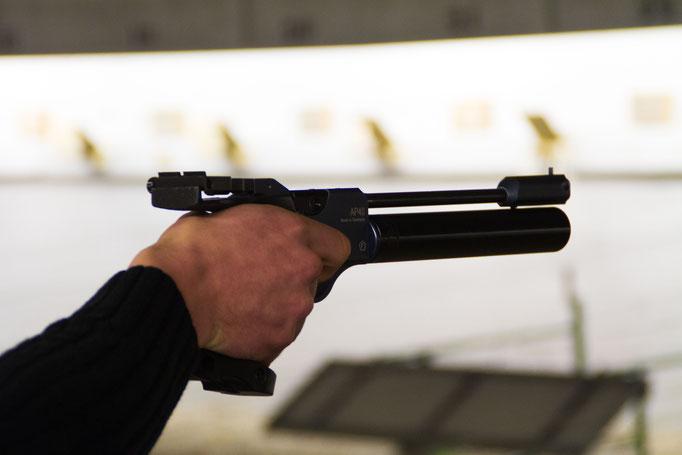 Pistolier en action