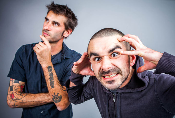 Marc Loiselle et Nicolas Des Ormeaux du groupe AKOUSTERIO