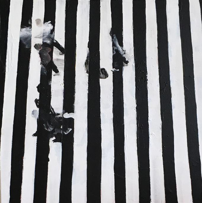 Acryl auf Leinwand   Titel: Bewegung   Größe: