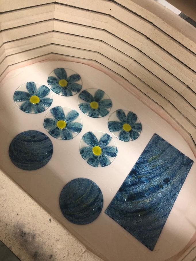 various flower bowls