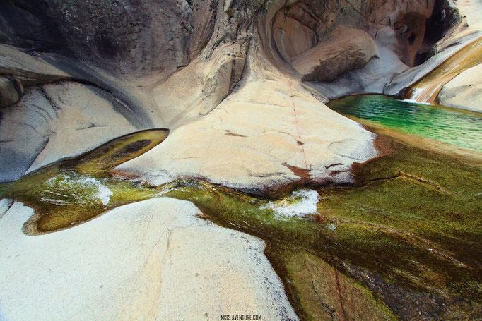 piscine naturelles de Purcaraccia.