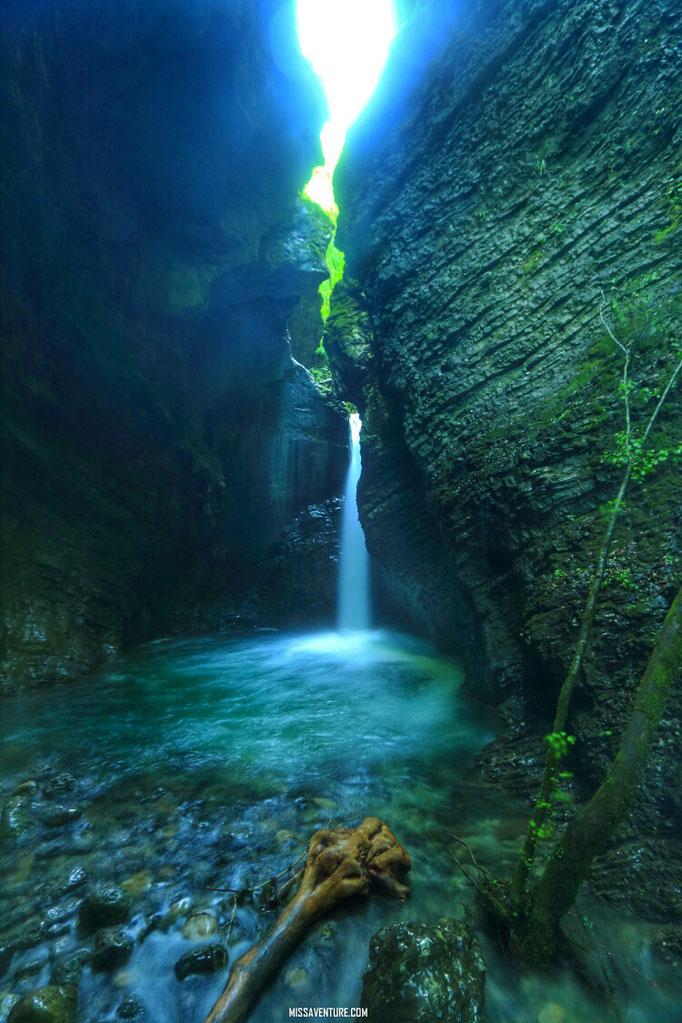 Cascade de Kozjak.