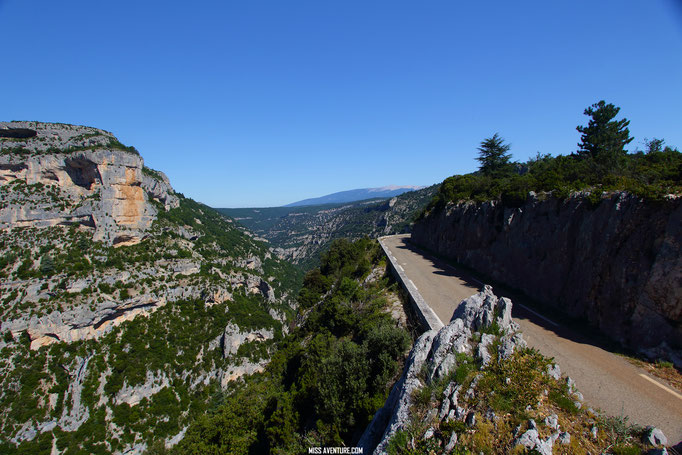 Gorges de la Nesque.