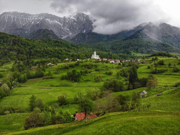 Village de Dreznica.