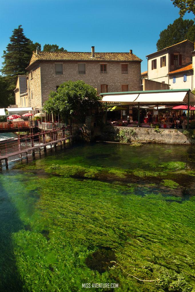 Fontaine de Vaucluse.