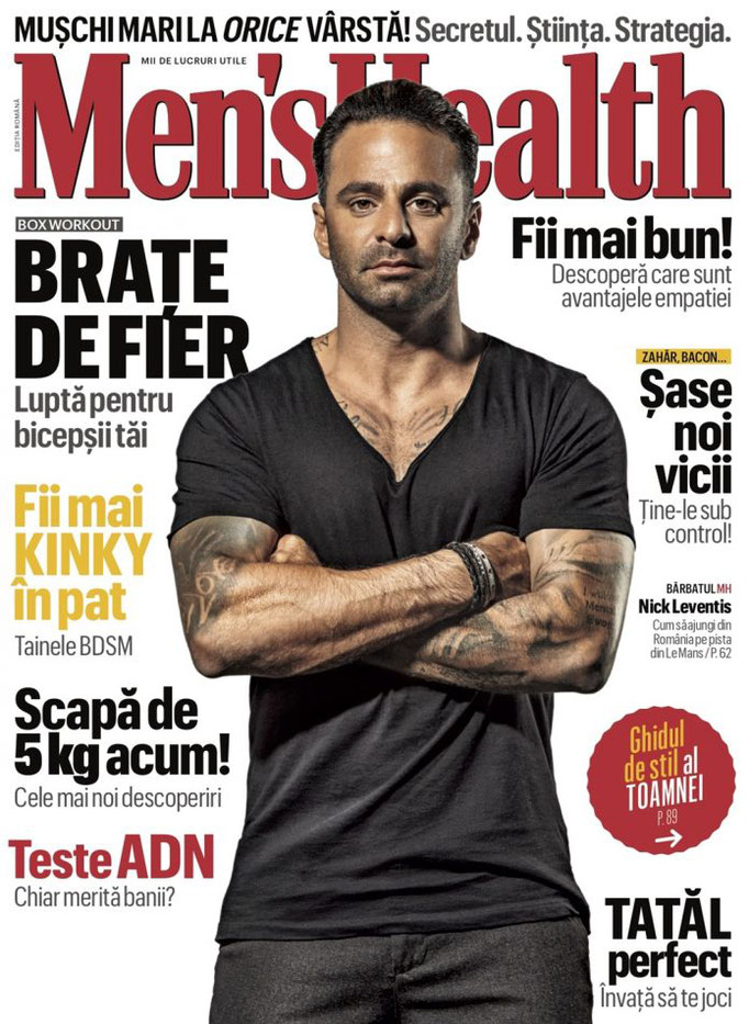 MENS HEALTH OCTOBER 2018