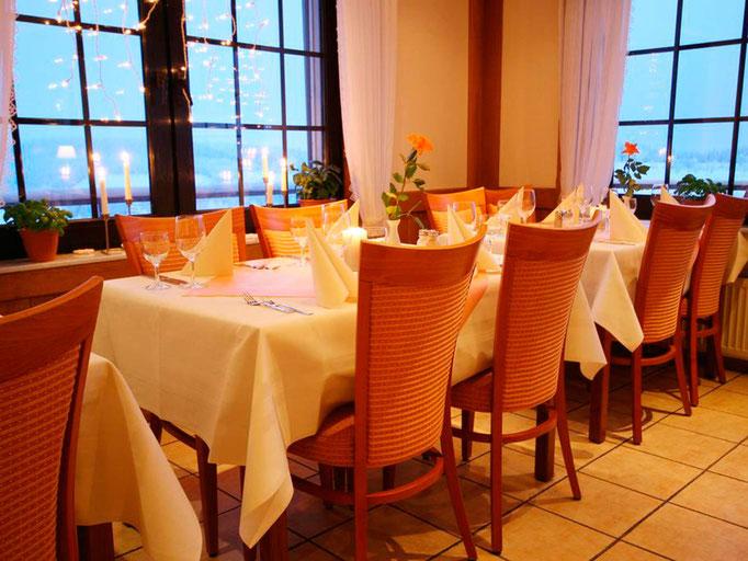 Das Restaurant unseres Hotels in Winterberg