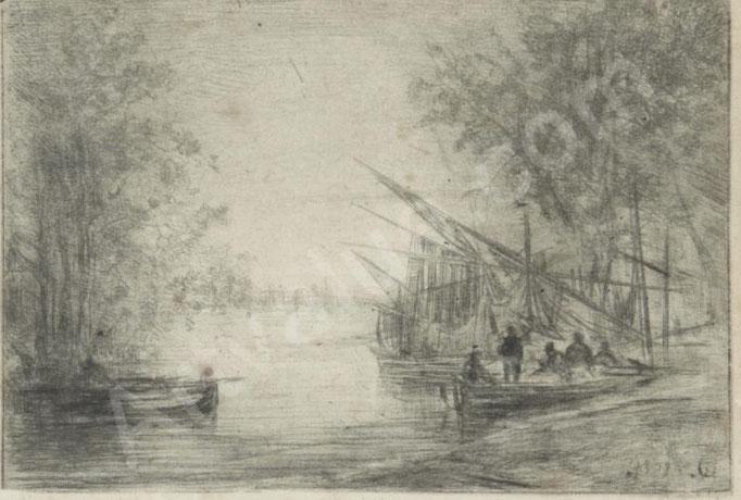 Gabriel, Bord de rivière