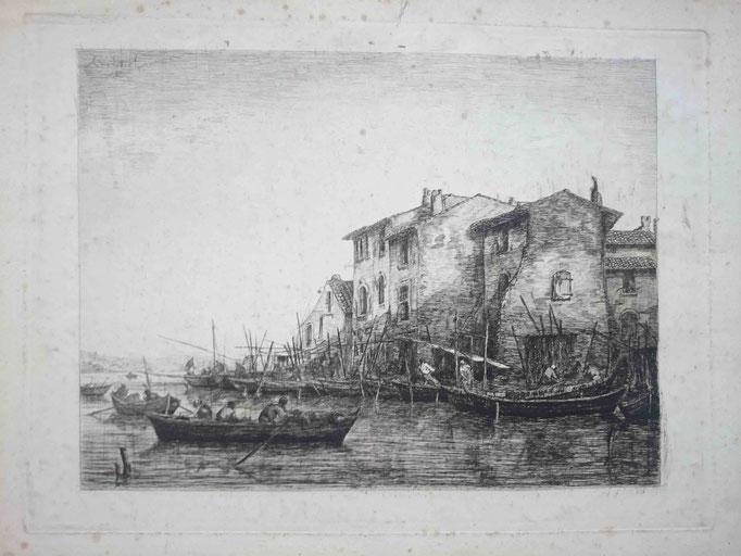 Gabriel, La Petite-Venise (Provence), 1er état, 1864