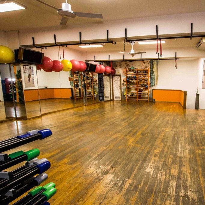 SWAN GYMNASTIC CENTER | Fitness room