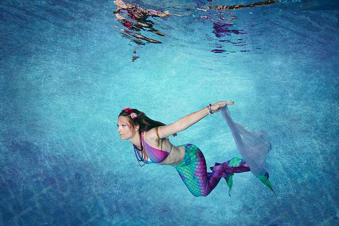 Junggesellinnen Abschied Unterwasserfotografie Stephan Ernst