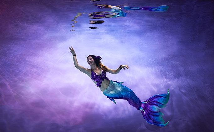 Fotoshooting Unterwasser Junggesellinnenabschied