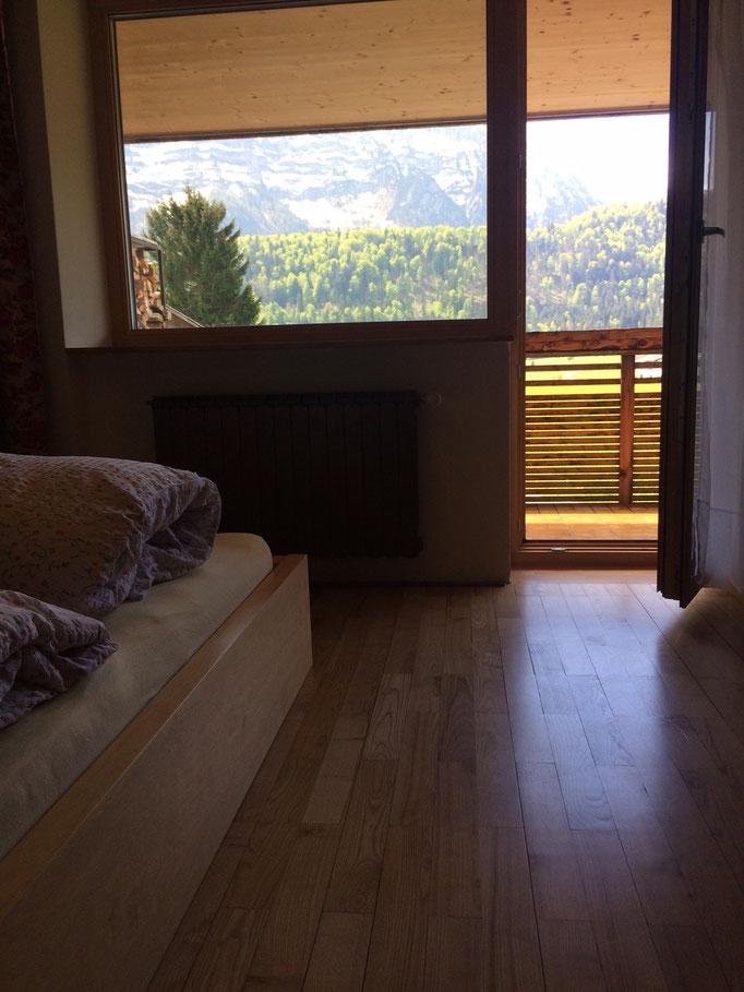 Doppelbettzimmer mit Bad (Dusche/WC)