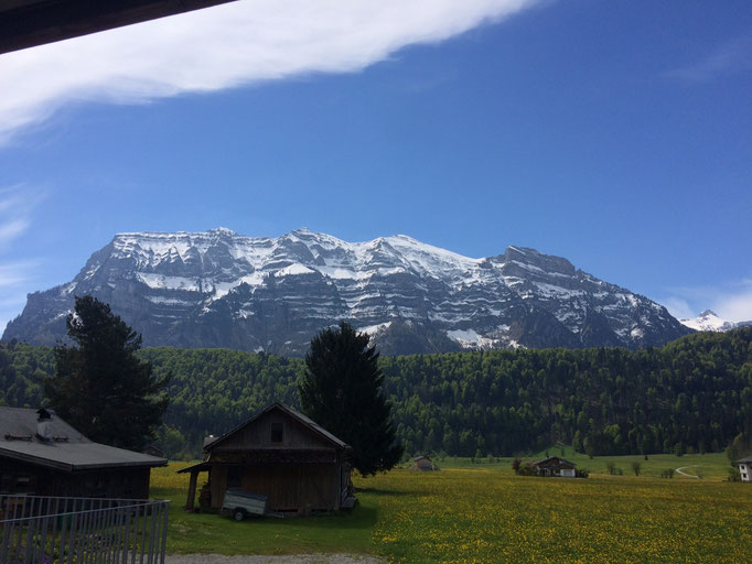 Aussicht Balkon - Süden (Kanisfluh)