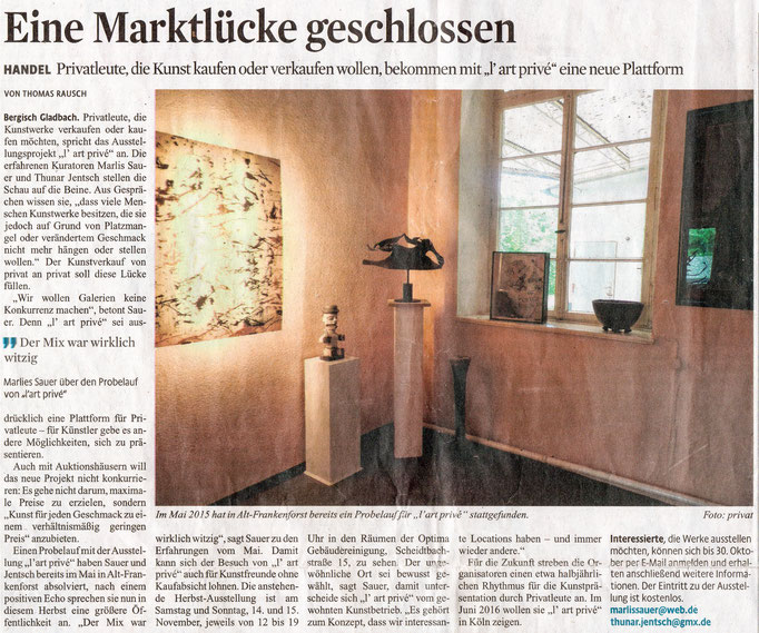Quelle: Kölner Stadtanzeiger 30.09.2015