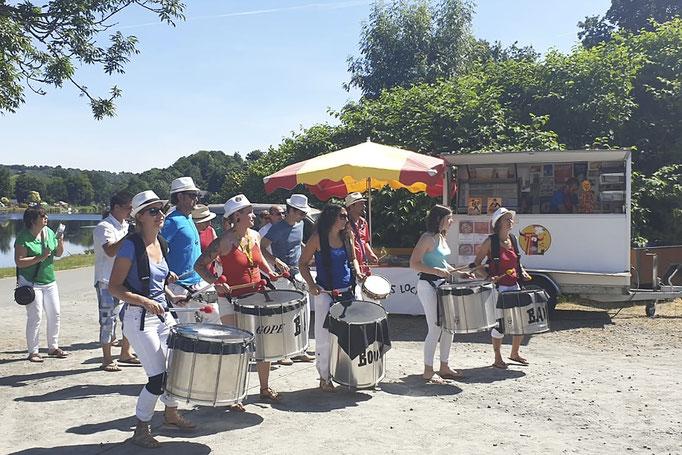 Marché estival de Pont-Coblant, le dimanche matin