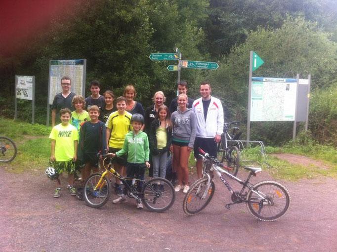 Fahrradtour August 2014