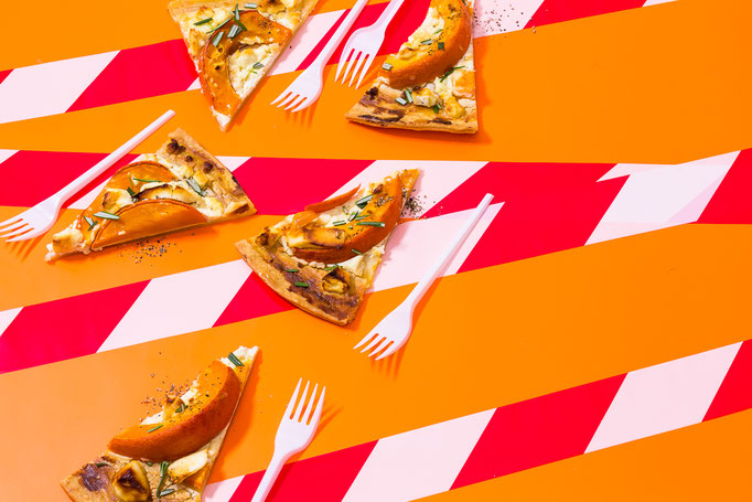 pumpkin quiche / pic taken for Caverion building company- foodstyling by Adele Steinbeis