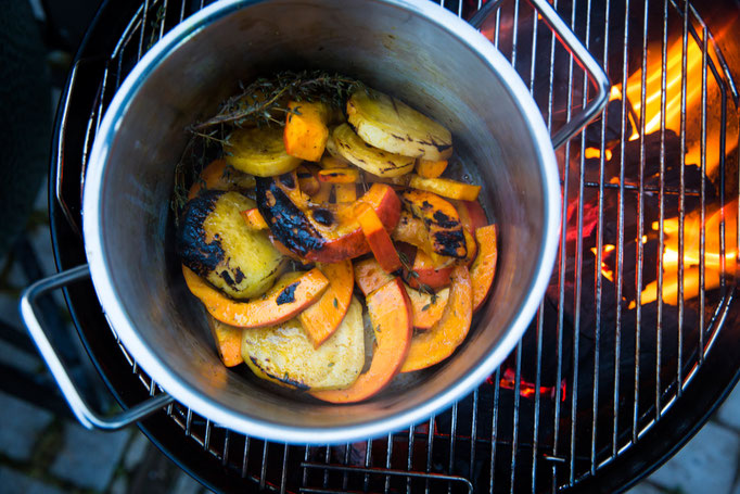 veggie garden BBQ  in Gut Sonnenhausen, Glonn (Munich)
