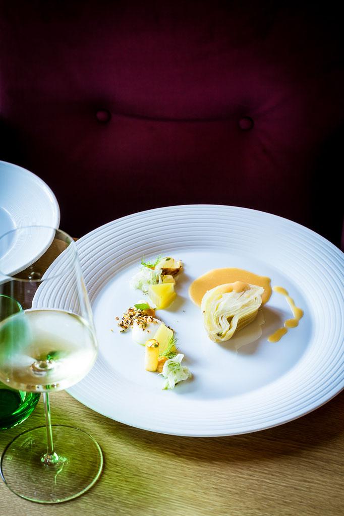 """""""Phoenix aus der Asche"""", a dish by Thomas Kellermann, chef at Restaurant Dichterstub'n - pic taken for Der Feinschmecker"""