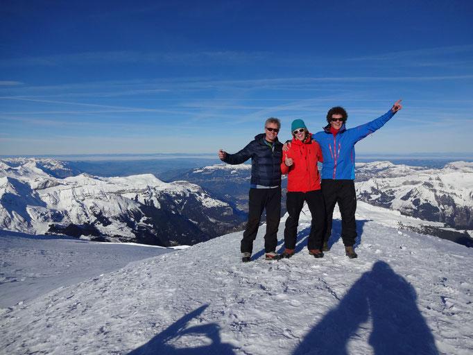 mautaineer+fly: Startplatz Jungfraujoch
