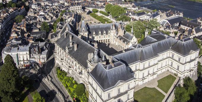 Le Champ du Pré - Chambre d'hôtes Sologne Val de Loire - A visiter près de chez nous : le château royal de Blois