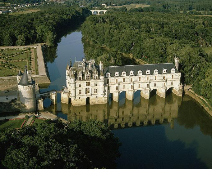 Le Champ du Pré - Chambre d'hôtes Sologne Val de Loire - A visiter près de chez nous : le château de Chenonceau