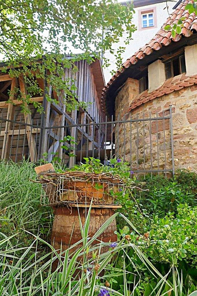 Burgbrunnen und Tretrad