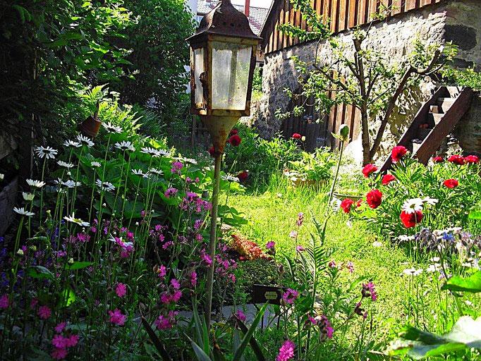 Kräutergartenidylle