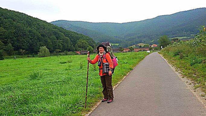 Unterwegs auf dem grünen Band und Werra-Radweg