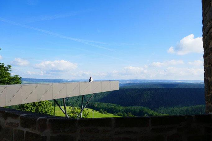 """""""Steg der Wünsche"""" auf der Leuchtenburg"""