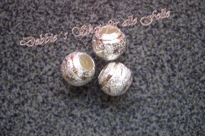 Metallperle silver