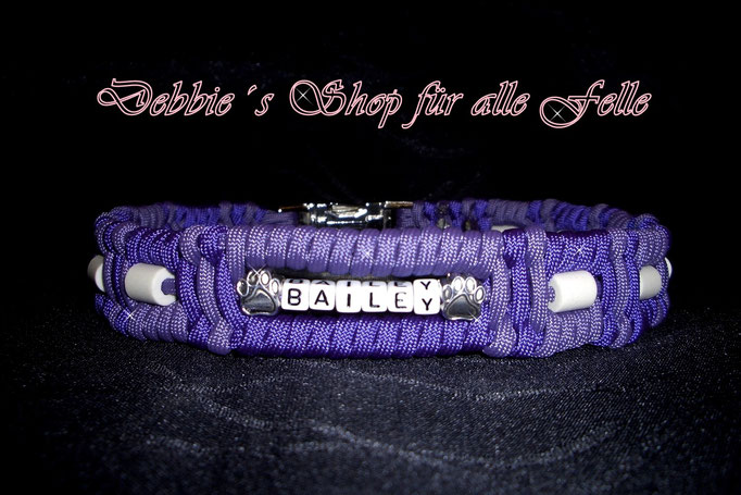 acid purple / purple mit Namen und Beads