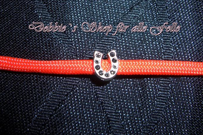 Hufeisen klein silberfarbend (7x7 mm)