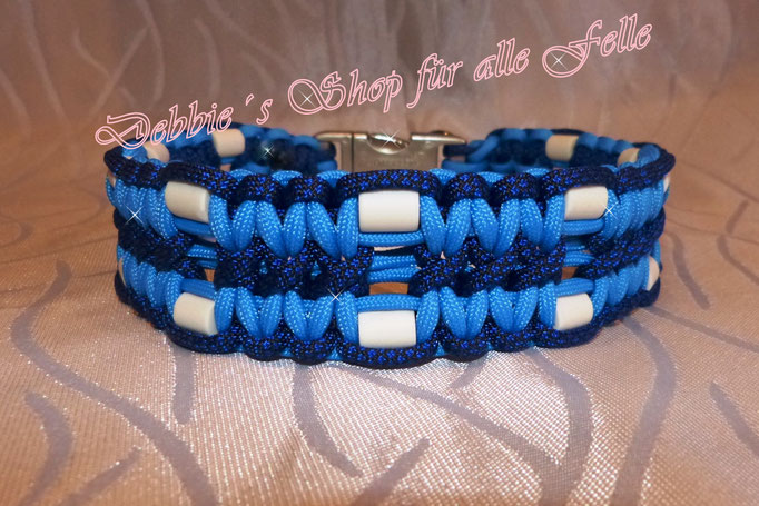 colonial blue / electricblue diamonds